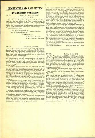 Handelingen van de Raad 1932-06-22