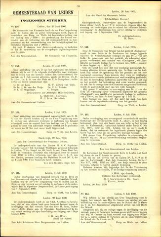 Handelingen van de Raad 1900-06-26