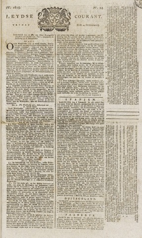 Leydse Courant 1815-02-24