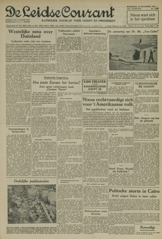 Leidse Courant 1952-09-24
