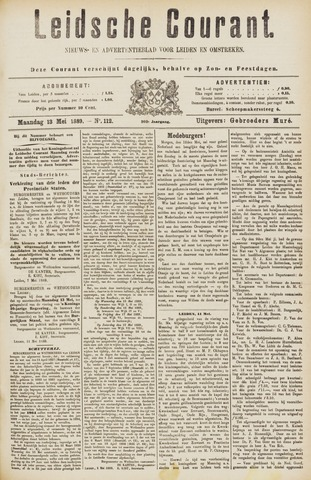 Leydse Courant 1889-05-13