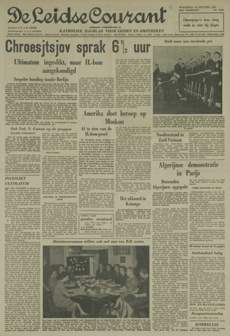 Leidse Courant 1961-10-18
