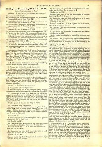 Handelingen van de Raad 1903-10-29