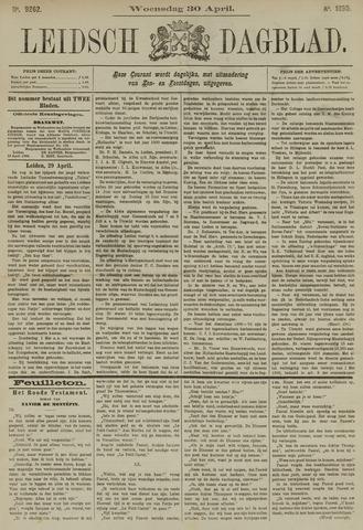 Leidsch Dagblad 1890-04-30