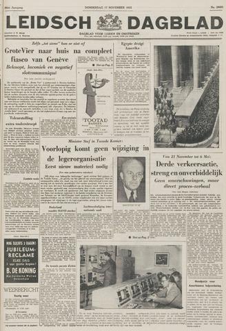 Leidsch Dagblad 1955-11-17