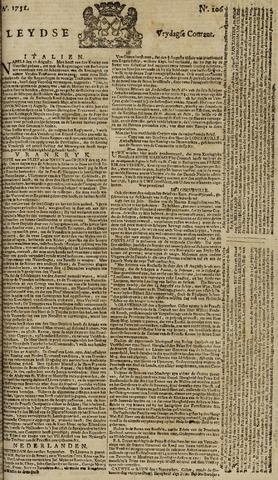 Leydse Courant 1751-09-03