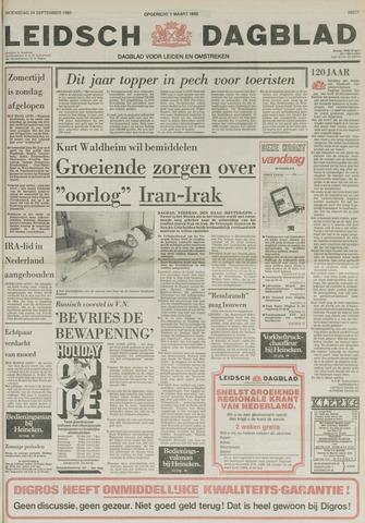 Leidsch Dagblad 1980-09-24