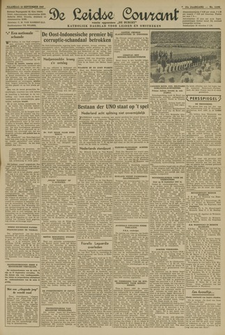 Leidse Courant 1947-09-22