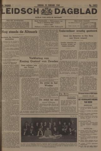Leidsch Dagblad 1940-02-20