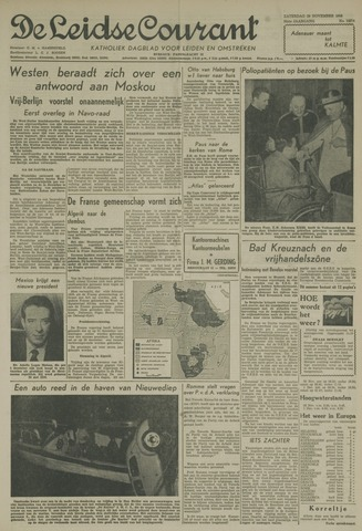 Leidse Courant 1958-11-29