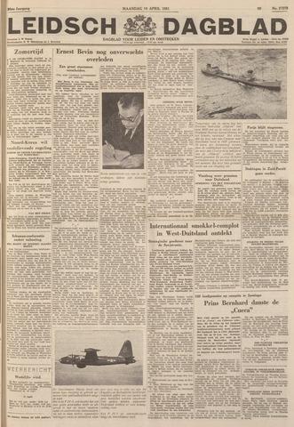 Leidsch Dagblad 1951-04-16