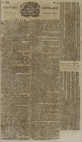 Leydse Courant 1803-04-29