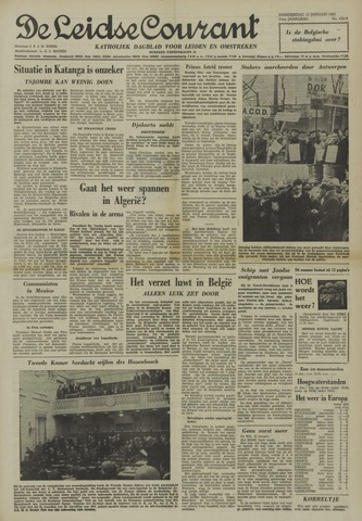 Leidse Courant 1961-01-12