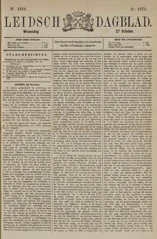 Leidsch Dagblad 1875-10-27