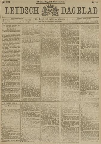 Leidsch Dagblad 1902-11-12