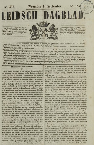 Leidsch Dagblad 1861-09-11