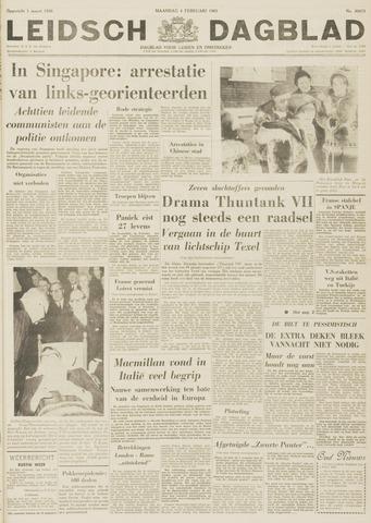 Leidsch Dagblad 1963-02-04