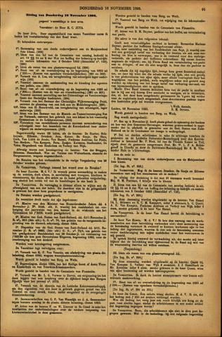 Handelingen van de Raad 1893-11-16