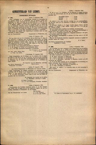 Handelingen van de Raad 1881-09-02