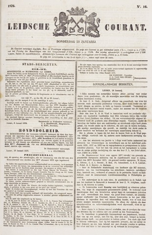 Leydse Courant 1876-01-20