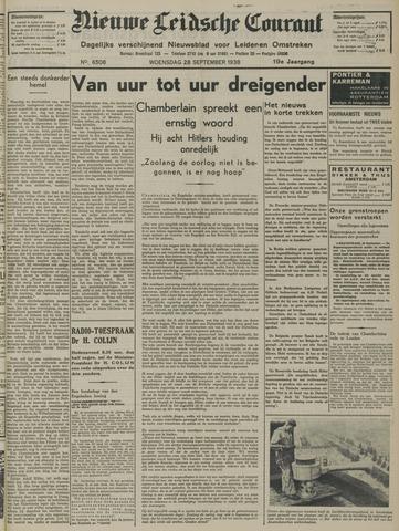 Nieuwe Leidsche Courant 1938-09-28
