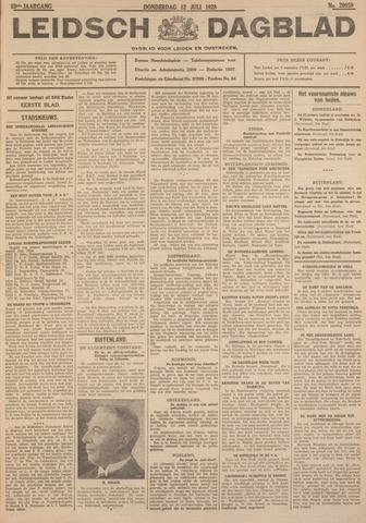 Leidsch Dagblad 1928-07-12
