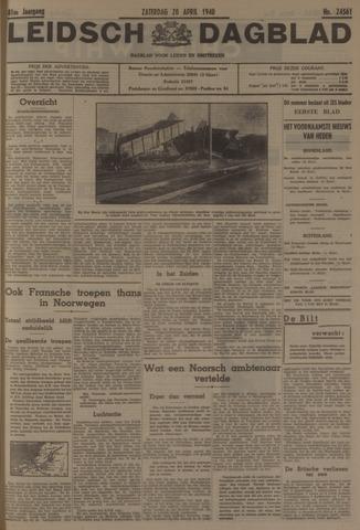 Leidsch Dagblad 1940-04-20