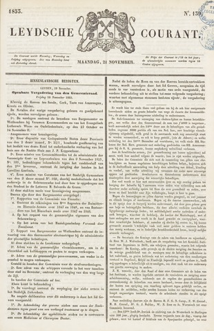 Leydse Courant 1853-11-21
