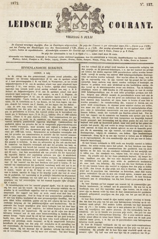 Leydse Courant 1872-07-05