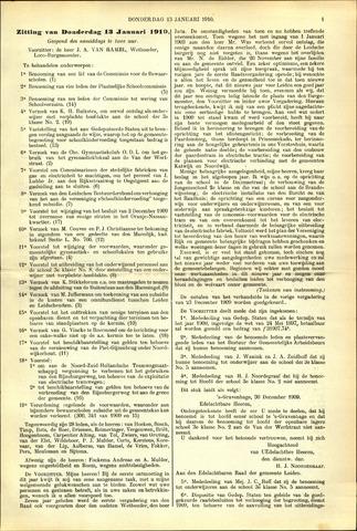 Handelingen van de Raad 1910-01-13
