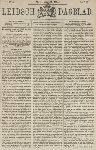Leidsch Dagblad 1885-05-02