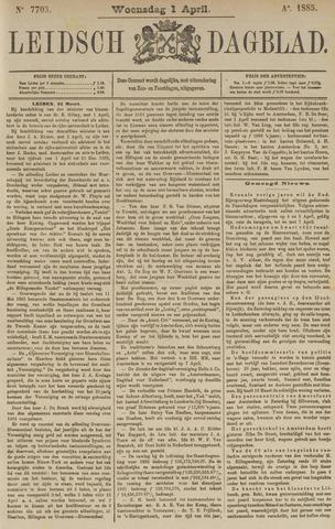 Leidsch Dagblad 1885-04-01