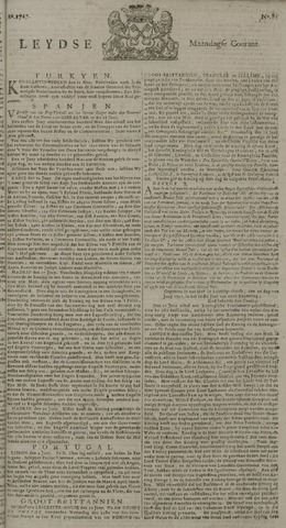 Leydse Courant 1727-07-07