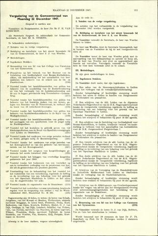 Handelingen van de Raad 1947-12-22