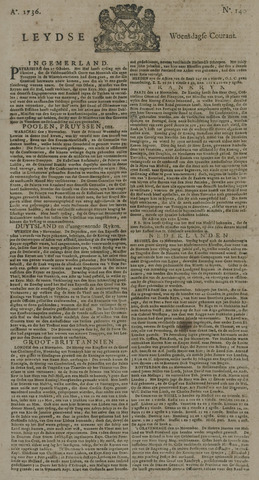 Leydse Courant 1736-11-21