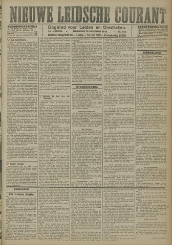 Nieuwe Leidsche Courant 1923-10-15