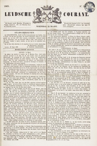 Leydse Courant 1865-03-22