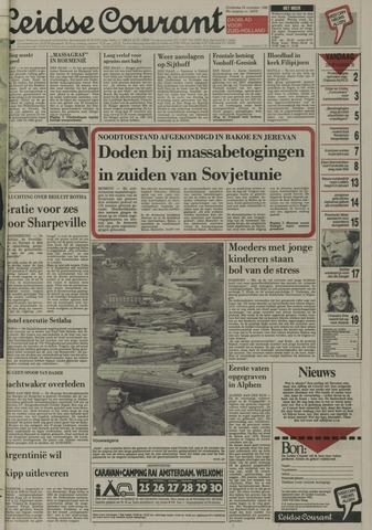 Leidse Courant 1988-11-24