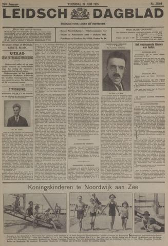 Leidsch Dagblad 1935-06-26