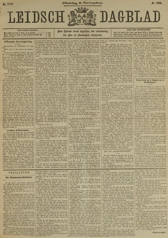 Leidsch Dagblad 1904-11-08
