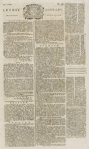 Leydse Courant 1820-03-29