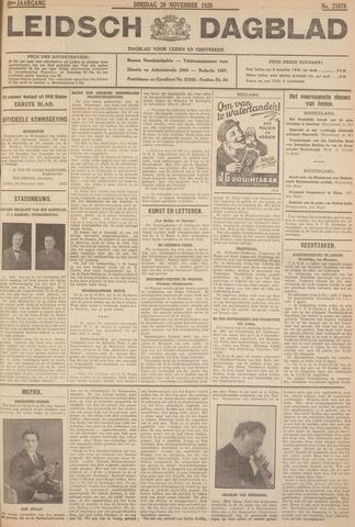 Leidsch Dagblad 1928-11-20