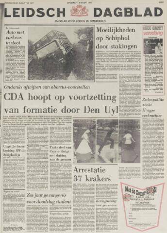 Leidsch Dagblad 1977-08-24