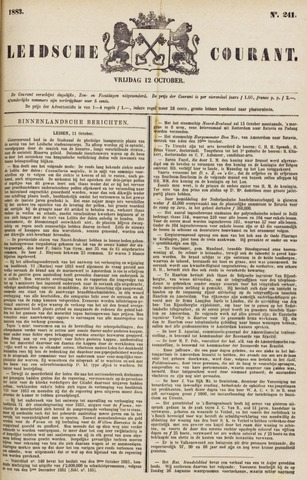 Leydse Courant 1883-10-12
