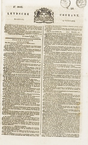 Leydse Courant 1841-02-15