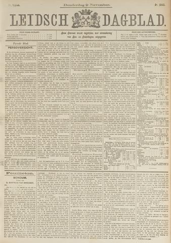 Leidsch Dagblad 1893-11-09