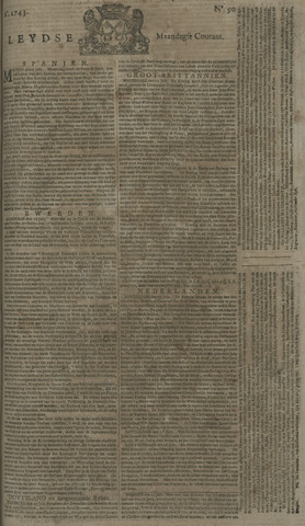Leydse Courant 1743-07-29