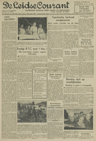 Leidse Courant 1949-10-15