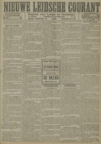 Nieuwe Leidsche Courant 1921-10-22