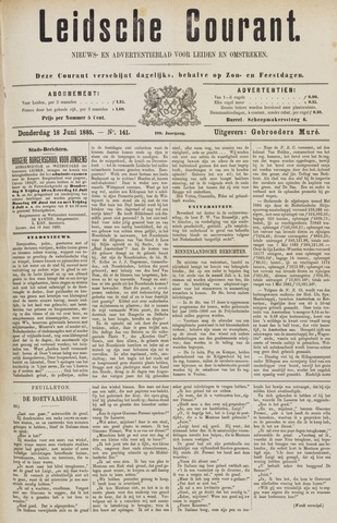 Leydse Courant 1885-06-18